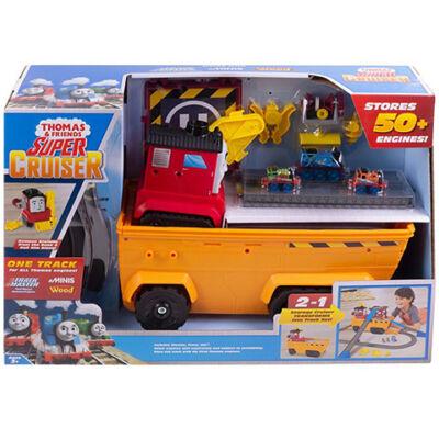 Thomas és barátai: Szuper szállító és pályaszett – Mattel