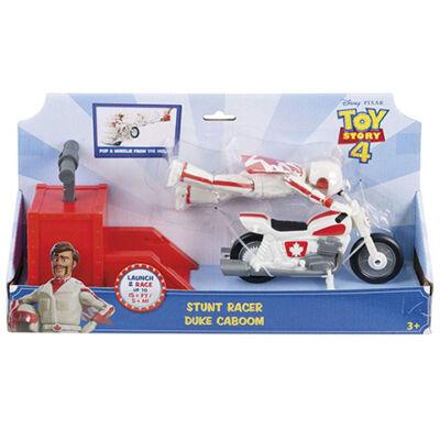 Toy Story 4: Duke Caboom motoros kaszkadőr figura játékszett – Mattel