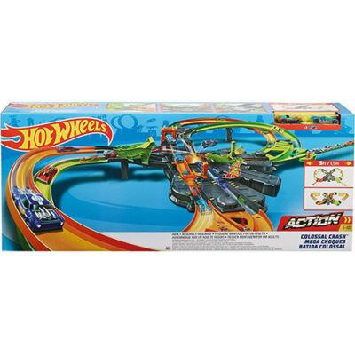 Hot Wheels: Kolosszális ütközések pályaszett – Mattel