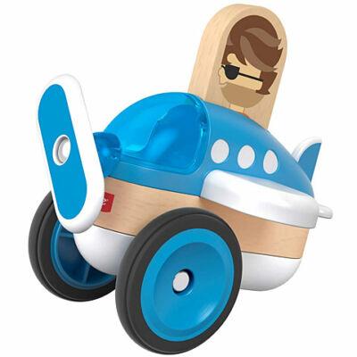 Fisher-Price Wonder Makers kék repülőgép – Mattel