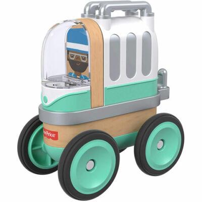 Fisher-Price: Wonder Makers menta színű lakóautó – Mattel