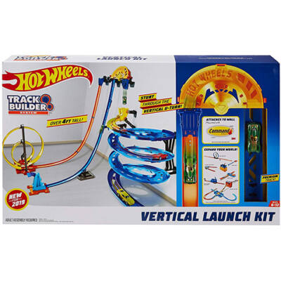 Hot Wheels Track Builder Függőleges szuperpálya készlet – Mattel