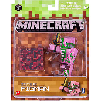 Minecraft: Zombi Malacember figuraszett