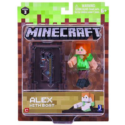 Minecraft: Alex hajóval figuraszett