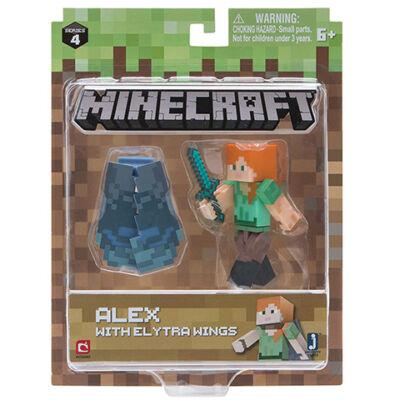 Minecraft: Alex Elytra szárnnyal figuraszett