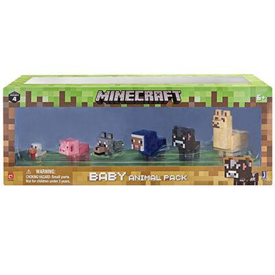 Minecraft: Baby háziállatok figuraszett 6 db-os csomag
