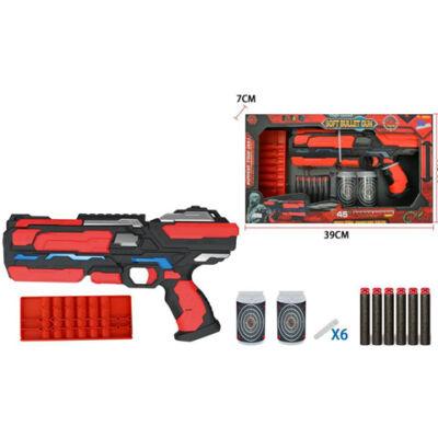 EVA szivacslövő fegyver lövedékkel