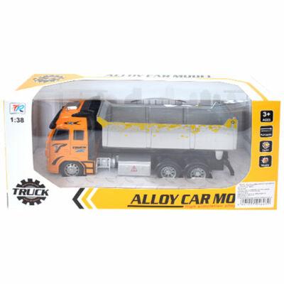 Billencses teherautó fény effektekkel 1:38-as méretarány