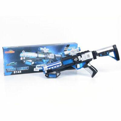 Starry Illusion gépfegyver kék színben fénnyel