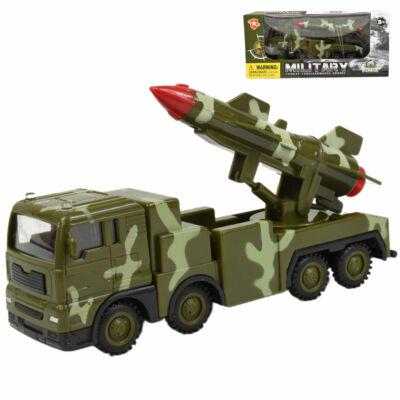 Katonai jármű rakétával