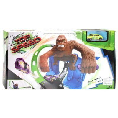 Top Speed Kong versenypálya kilövővel