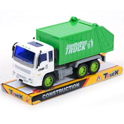 Hulladékszállító teherautó 13 cm