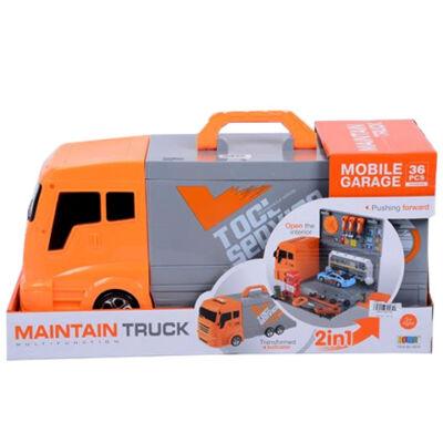 Kamion szerszámkészlettel 36 db-os