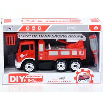 Szerelhető tűzoltóautó emelőkosárral 25 cm