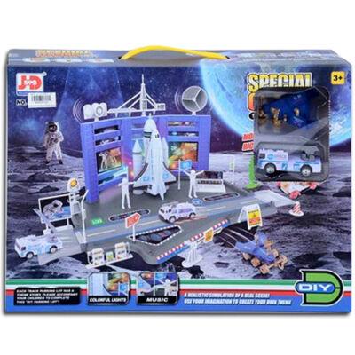 Űrközpont pályaszett járművekkel