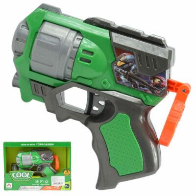 Cool Szivacslövő fegyver zöld színben