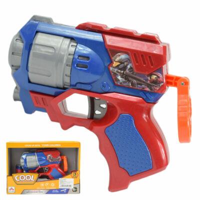 Cool Szivacslövő fegyver piros-kék színben