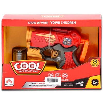 Cool Szivacslövő fegyver piros színben