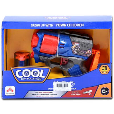 Cool Szivacslövő fegyver kék színben
