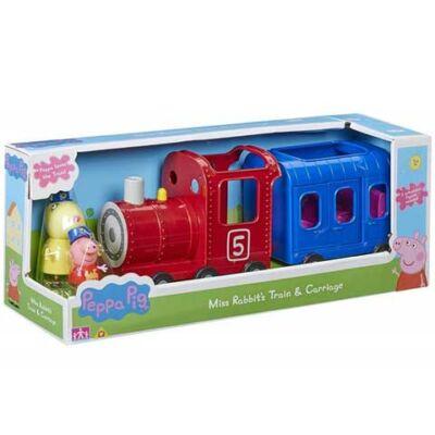 Peppa malac: Nyuszi néni vonata figurákkal