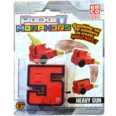 Pocket Morphers II 5 Nehéz löveg átalakítható figura