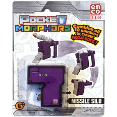 Pocket Morphers II 7 Rakéta siló átalakítható figura