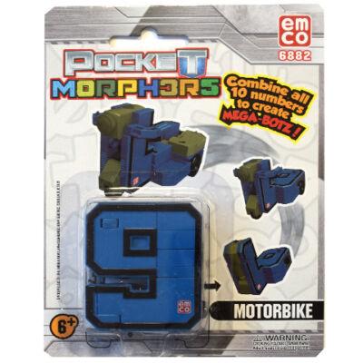 Pocket Morphers II 9 Motorkerékpár átalakítható figura
