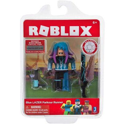 Roblox: Blue Laser Parkour Runner figura