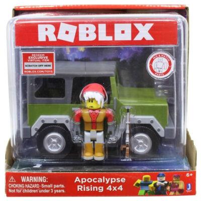 Roblox: Apocalypse Rising 4×4 jargany és játékfigura