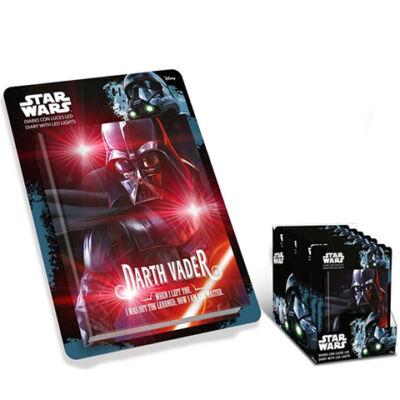 Star Wars - Darth Vader világító ledes napló