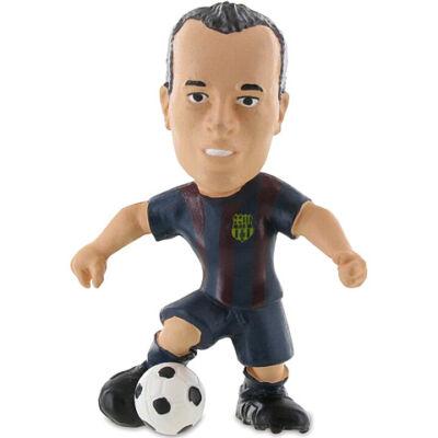 FC Barcelona: Andrés Iniesta focista játékfigura