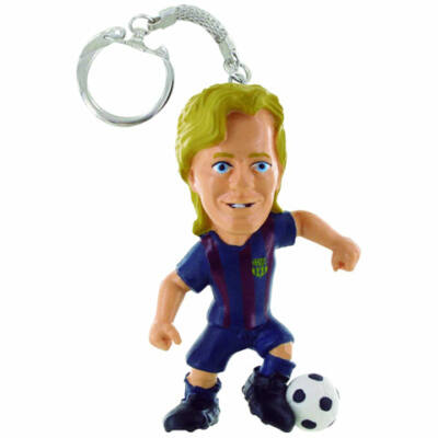 FC Barcelona: Rakitic focista kulcstartó figura