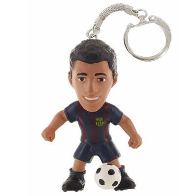 FC Barcelona: Luis Suarez focista kulcstartó figura