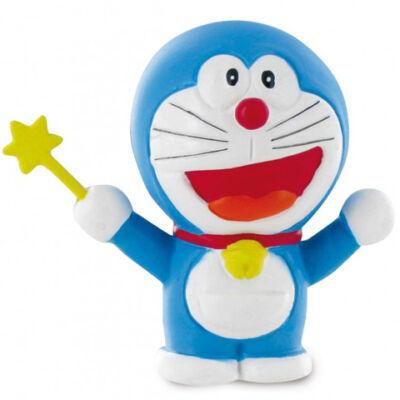 Doraemon varázspálcával játékfigura