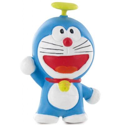 Doraemon repülő sisakkal játékfigura