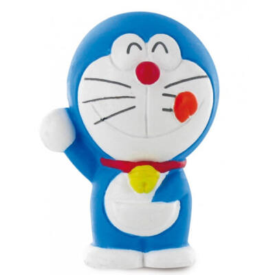 Doraemon szónokol játékfigura
