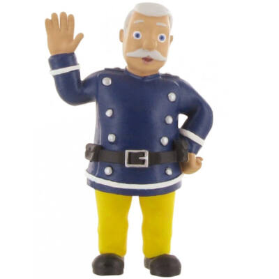 Sam, a tűzoltó: Steele Parancsnok játékfigura
