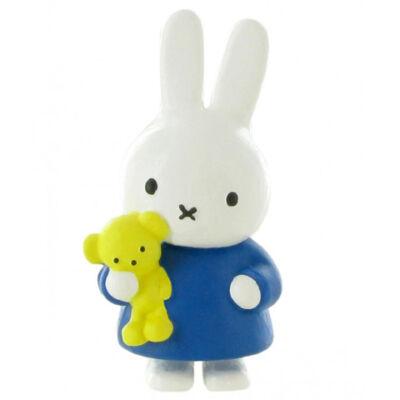 Miffy mackóval játékfigura