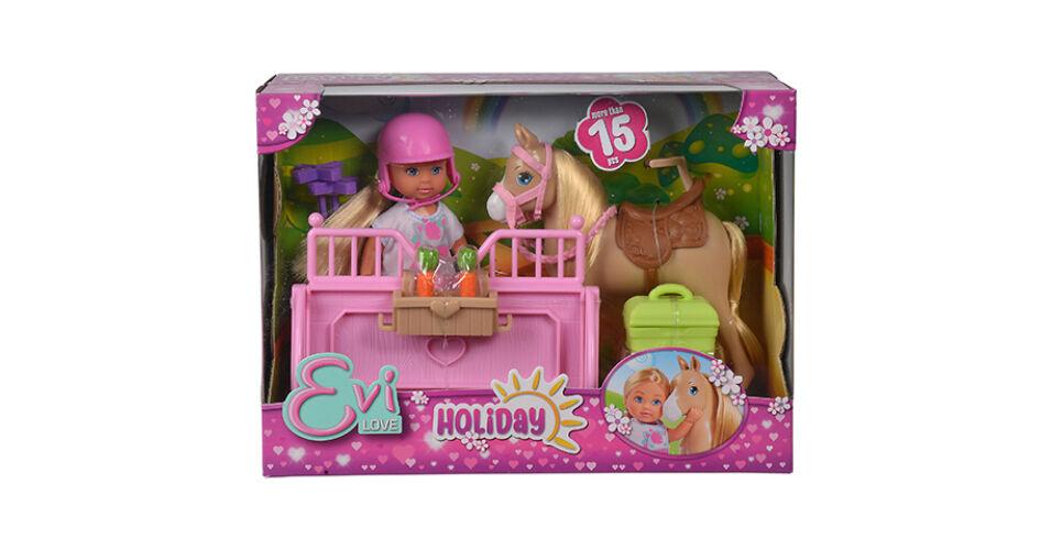 a67bc4c34452 Evi Love: Holiday friend lovas játék szett – Simba Toys,5.136 Ft,Steffi Love  babák- Játék Webshop a boldog gyerekek forrása